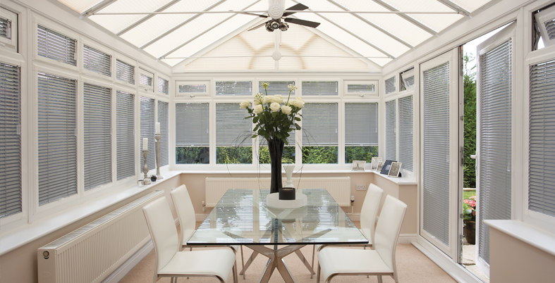 Conservatory Blinds Huddersfield Amp Wakefield White